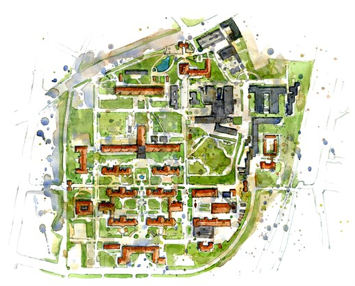 kort over bispebjerg hospital